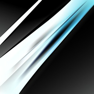 Abstract Blue Black and White Business Background Vector Graphic