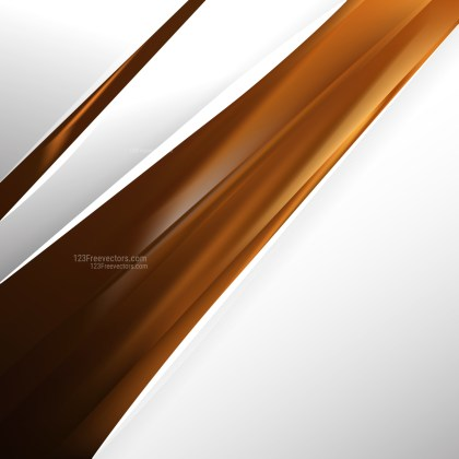 Abstract Brown Business Brochure Template