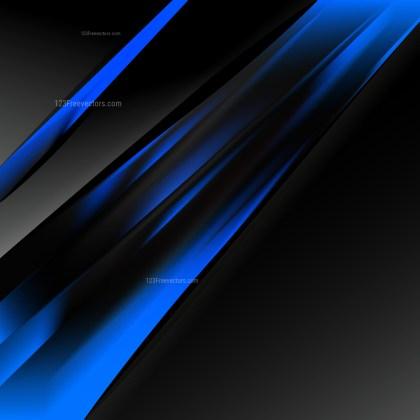 Cool Blue Brochure Design Template Vector