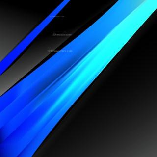 Cool Blue Business Brochure Design