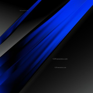 Abstract Cool Blue Business Background Template