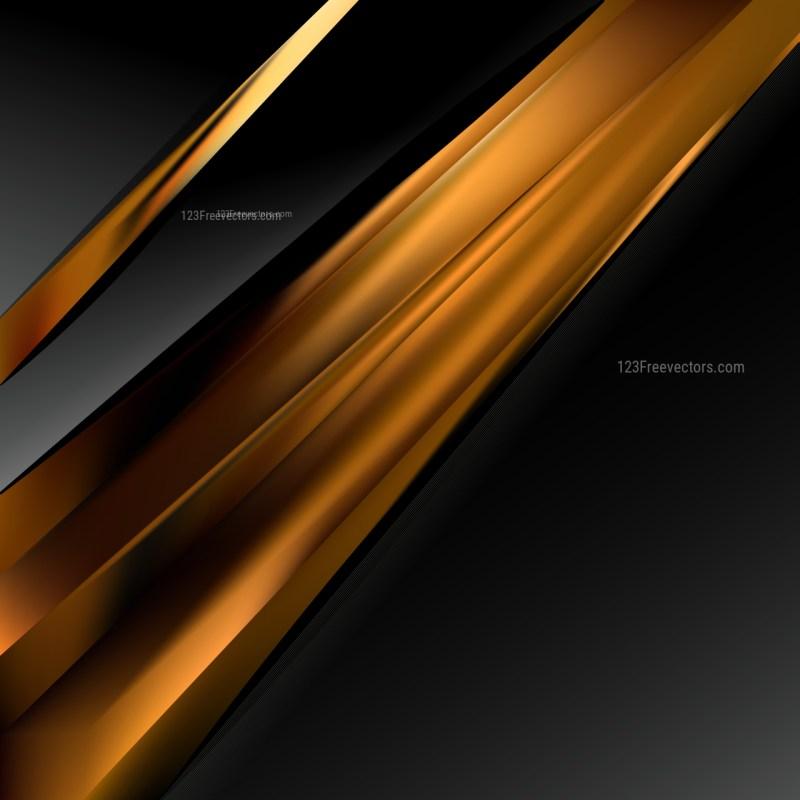 Cool Brown Brochure Design Template Vector