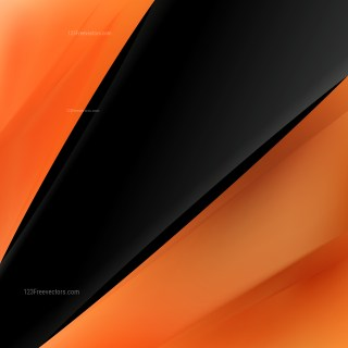 Abstract Cool Orange Business Background Template Vector Art