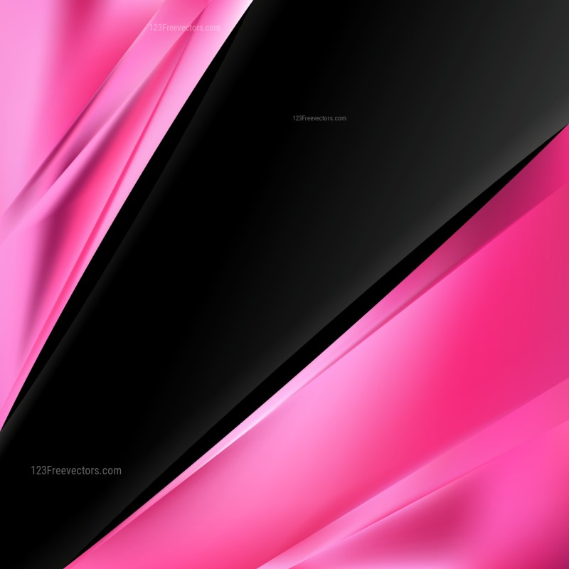 Cool Pink Business Background Illustration