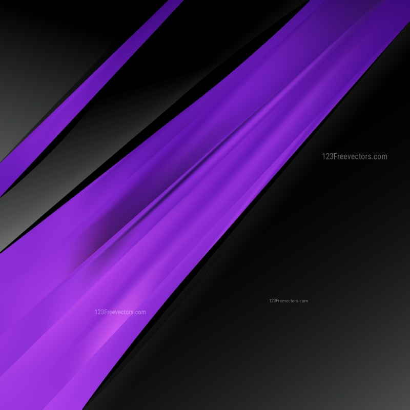 Cool Purple Brochure Design Graphic