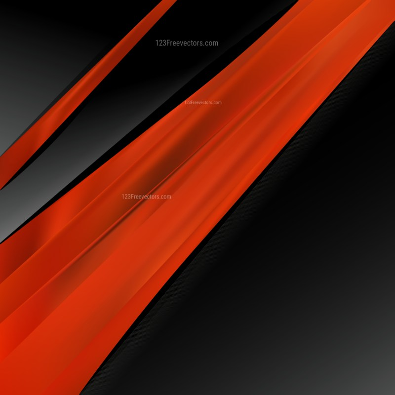 Abstract Cool Red Brochure Design Template