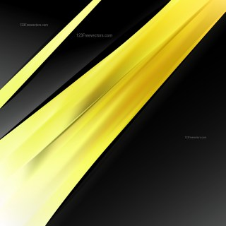 Abstract Cool Yellow Brochure Design Template