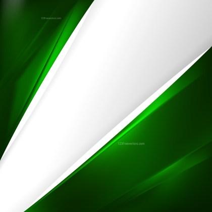 Dark Green Brochure Design Image