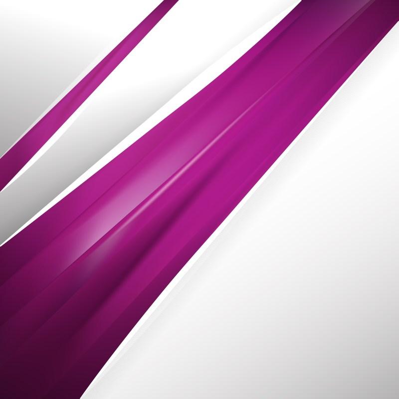 Abstract Dark Purple Business Brochure Template
