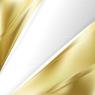 Gold Brochure Design Vector Illustration