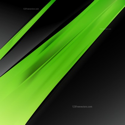 Abstract Green and Black Business Background Template Design