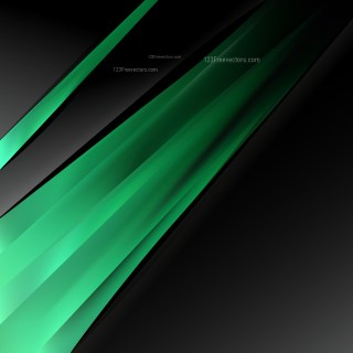 Green and Black Business Background Template
