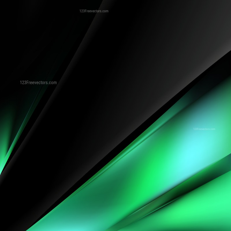 Green and Black Business Background Template Design