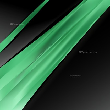 Green and Black Business Background Template Vector Art