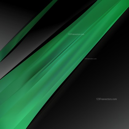 Green and Black Brochure Design Graphic