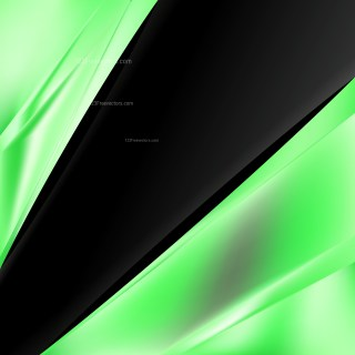 Abstract Green and Black Business Background Template