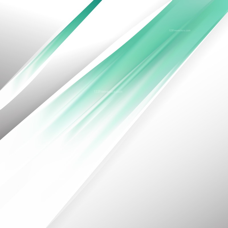Abstract Green and White Brochure Design Template Vector