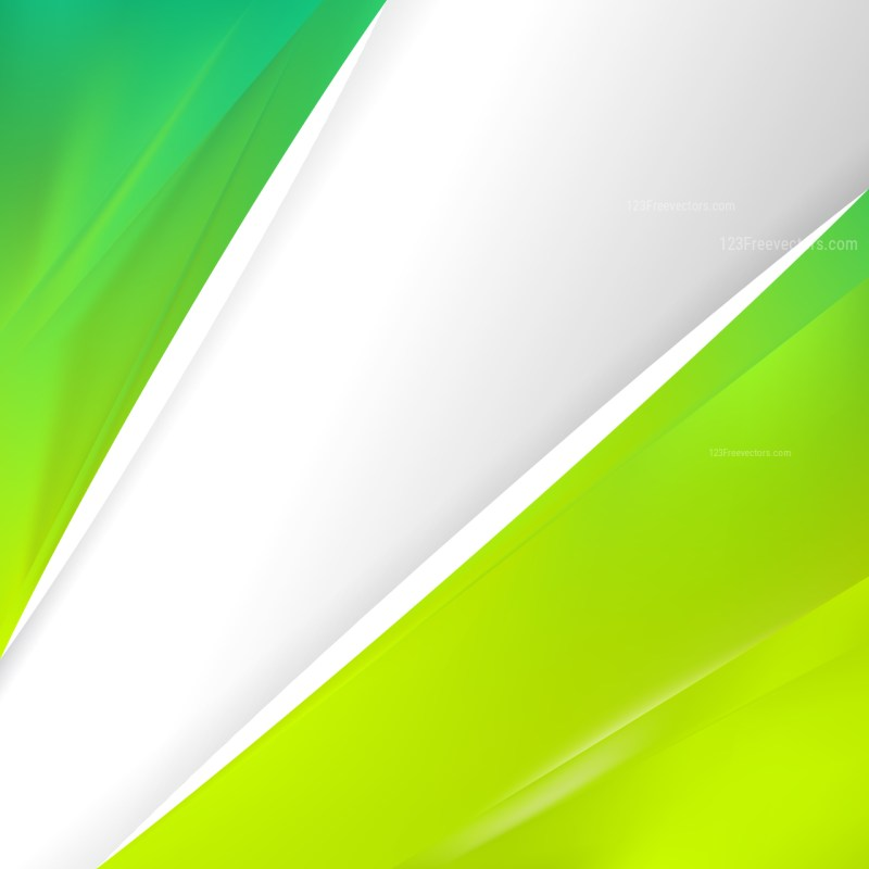 Abstract Green and Yellow Business Background Template