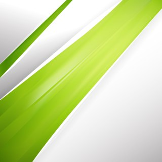 Abstract Lime Green Business Brochure