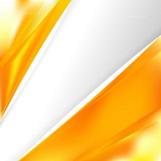 Abstract Orange Brochure Design
