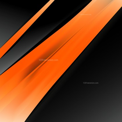 Orange and Black Business Brochure Template