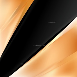 Orange and Black Business Background Template