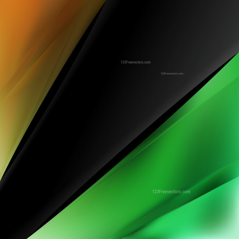 Abstract Orange and Green Business Background