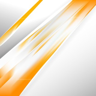 Abstract Orange and White Business Brochure Vector Art