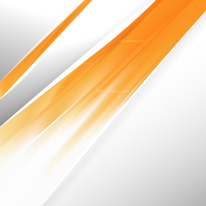 Abstract Orange and White Brochure Design Template Vector