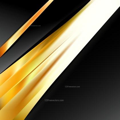 Orange Black and White Brochure Design Template