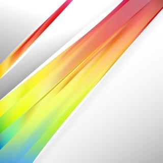 Pastel Rainbow Brochure Design