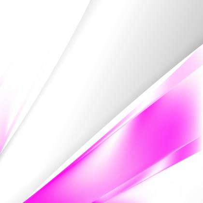 Abstract Pink and White Business Brochure Template Graphic