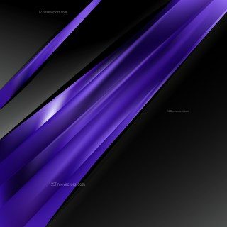 Abstract Purple and Black Brochure Design Template Illustration