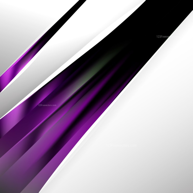 Purple and Black Brochure Design