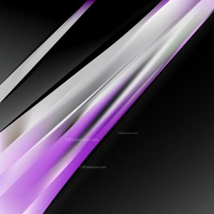 Purple Black and White Brochure Design Template