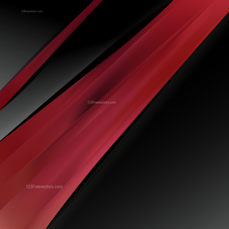 Red and Black Business Background Template