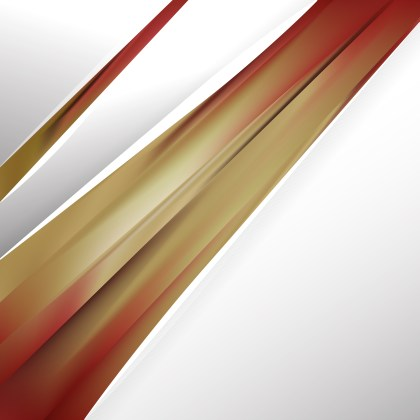 Abstract Red and Gold Brochure Design Image