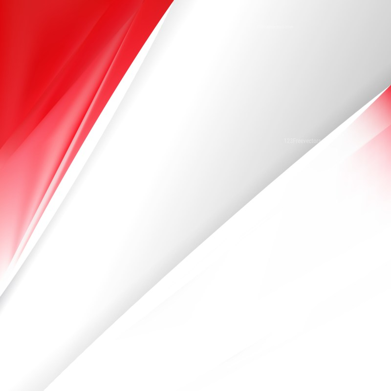 Abstract Red and White Business Background Template Design