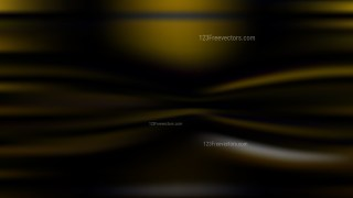 Black and Gold Blur Background Vector Illustration