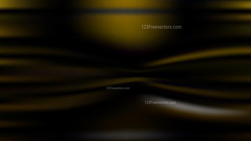 Black and Gold Blur Background Vector Illustration