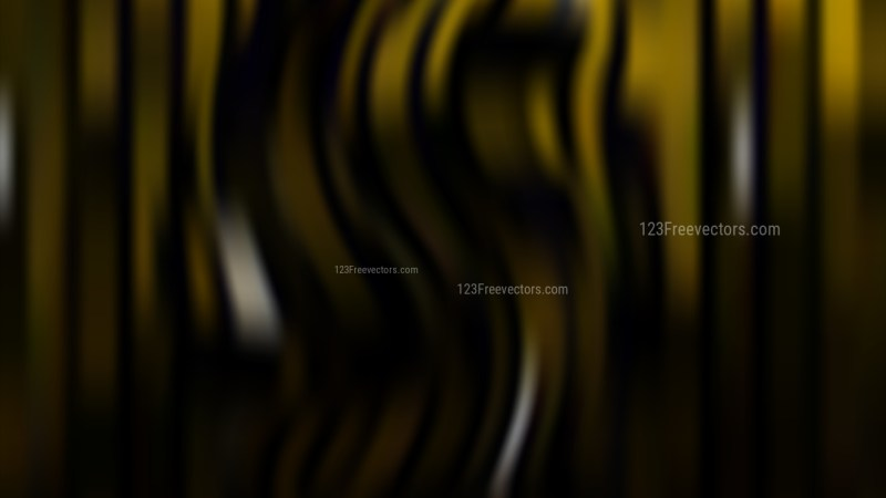 Black and Gold Blur Background