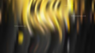 Black and Gold Blur Background Illustration