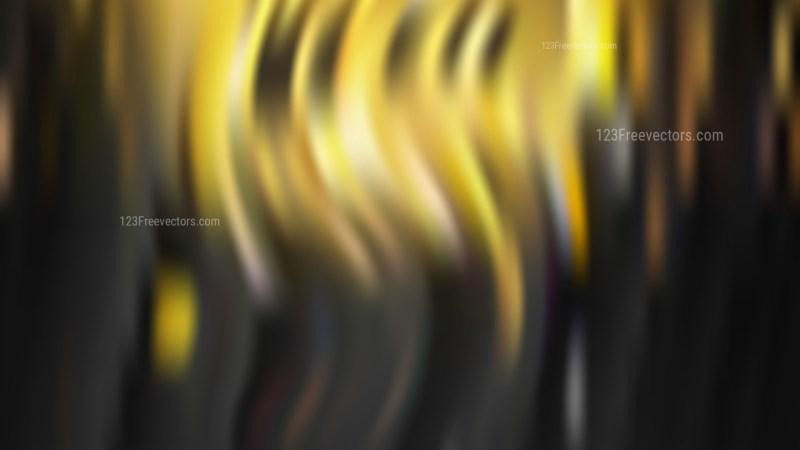 Black and Gold Blur Background Illustration