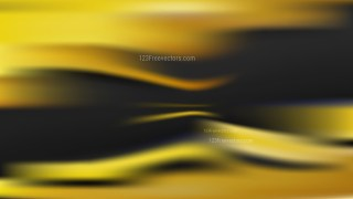 Black and Yellow Blurry Background Vector
