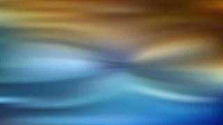 Blue and Orange Blurred Background