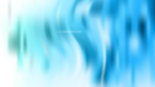 Blue and White Blurry Background Vector