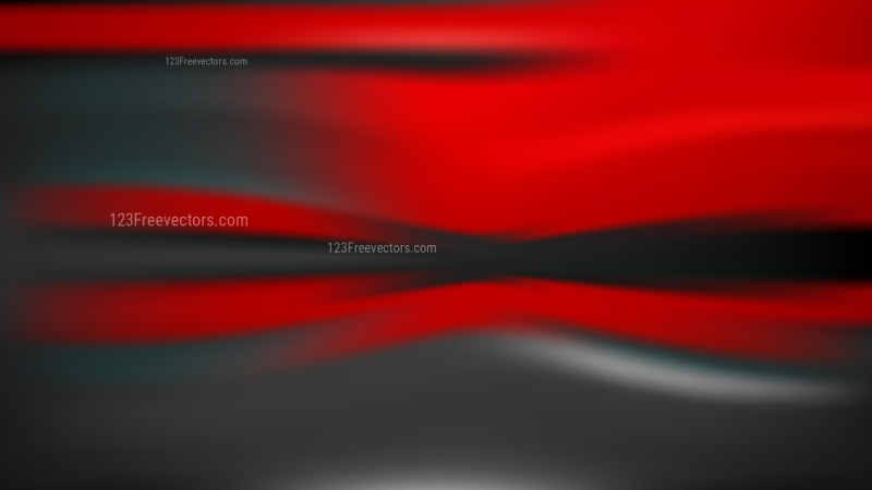 Cool Red Blurred Background