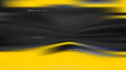 Cool Yellow Blurred Background