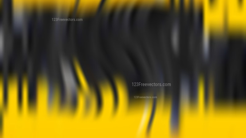Cool Yellow Blurred Background Graphic