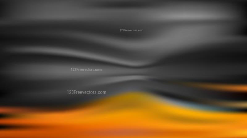Orange and Black Blurry Background Vector